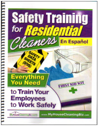 Safety Training for Residential Cleaners In Spanish (Print)