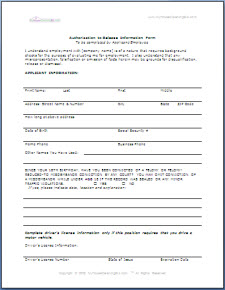 pre employment background check authorization form - nomadconvoy.co