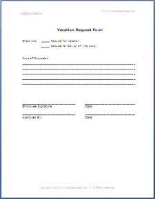 HR and Employee Forms